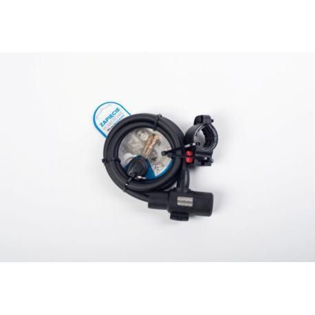 ARZ001 Zapięcie rowerowe 10x150cm na klucz